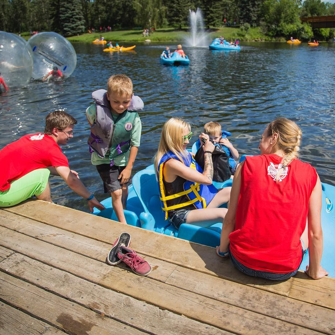 Kids 12 & Under Ride Free – Sept 13-15 Must be accompanied by at least one adult per boat. #Family #Community #BowerPonds #RedDeer #YQF #Kids #Children #Free #BackToSchool