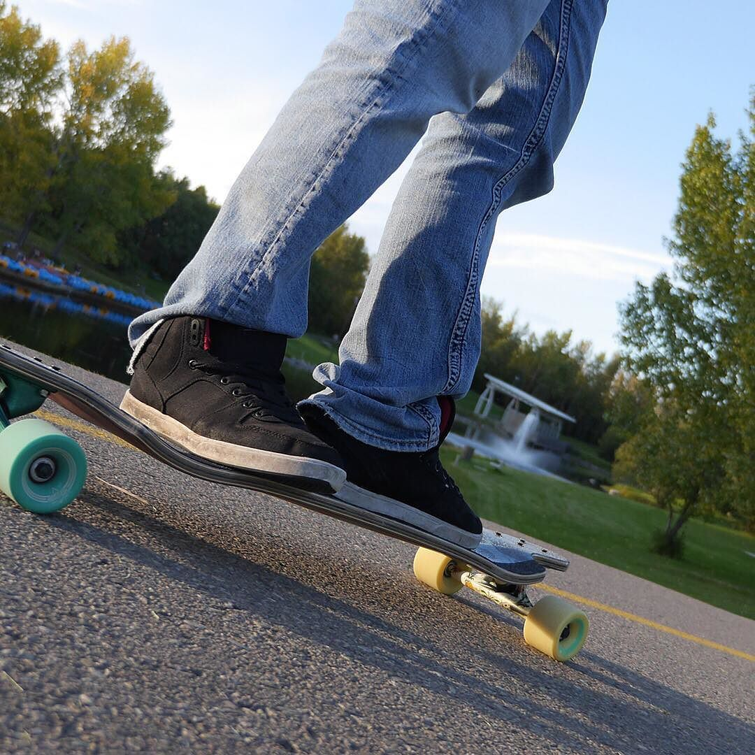 We are now renting long boards from @the_industry_shop at Bower Ponds! Experience the trails on wheels! #BowerPonds #Longboards #Recreation #Outdoors #Trails #Sunshine #Spring #Summer #RedDeer #YQF #BlueSkies #Active #Lifestyle #Move